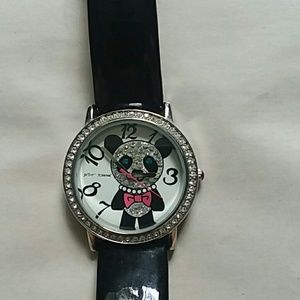 Betsey Johnson panda watch EUC